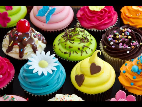 C mo decorar cupcakes ideas super f cil youtube for Decoraciones para decorar