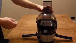 How to take apart and reassemble a Philips Viva juicer