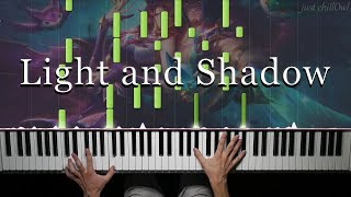 Light and Shadow | League of Legends - Piano Cover 🎹