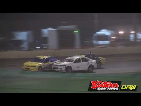 Production Sedans - A-Main - Queensland Title - Rockhampton Speedway - 18.02.2017