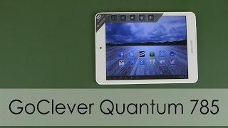 Розпакування GoClever Quantum 785 16GB White
