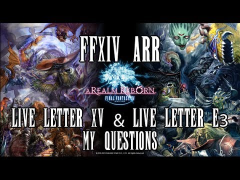 ffxiv live letter ffxiv arr my questions for the live letter xv and live 51630