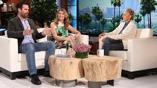 The 'Catastrophe' Cast Meets Ellen