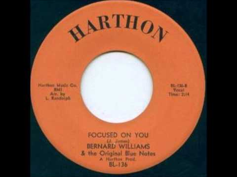 BERNARD WILLIAMS-FOCUSED ON YOU (HARTHON)