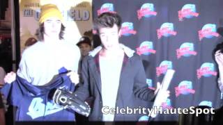 "Cameron Dallas And Nash Grier Promote ""The Outfield"" In NYC"