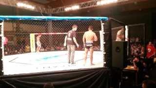 Dawid Kosiorek vs Milano Paczkowski Gala MMA w Bieżuniu