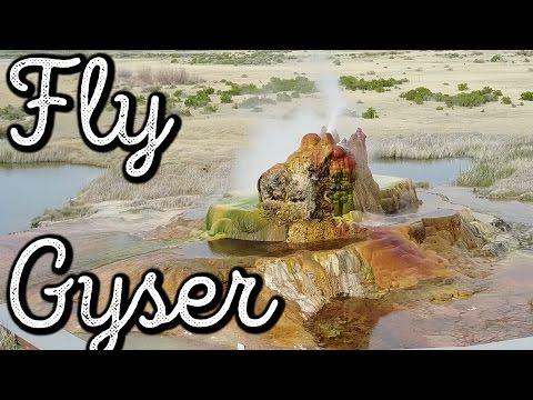 DO NOT VISIT FLY GYSER RANCH, NEVADA :( VLOG: 203.5