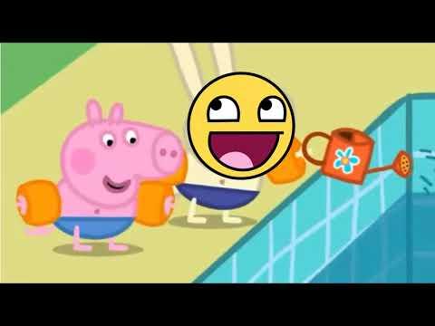 PEPPA PIG ON CRACK (SWIMMING POOL EPISODE)