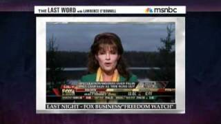 Sarah Palin accuses Fox News of