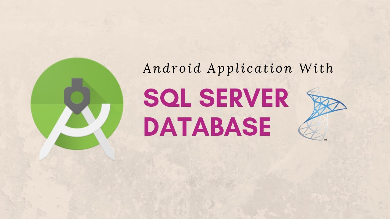 Connect SQL Server With Android Application| JDBC Driver