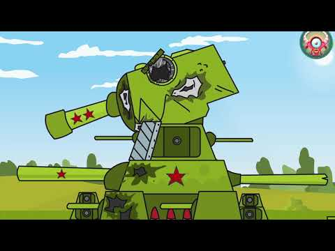 Army Of Steel Tanks. World Of Tanks. Мультики про танки. Animation About Iron Monster Tanks.