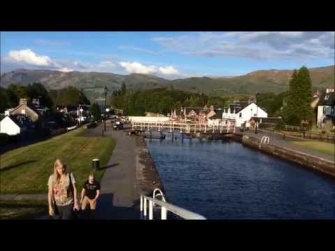 Fort Augustus Scotland Home Of The Loch Ness Monster 2014