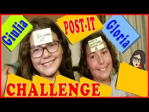 POST-IT Challenge: Giulia Guerra vs Gloria Capozza