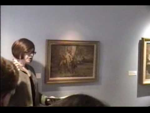Fresno Met Museum - Anna Richards Brewster curator tour with Judith Maxwell - Part 2 of 9