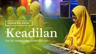 Nasida Ria Live Kauman - Keadilan ( kolaborasi dengan keyboardis Nasida Ria gen 1 )