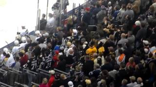 Jordan Leopold Fight vs Bobby Farnham and Dalton Prout vs. Steve Downie 12/13/2014