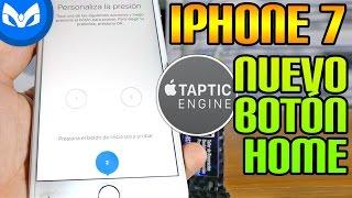 NUEVO BOTON HOME iPhone 7 Plus Explicado