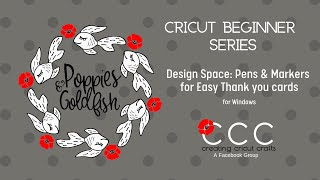 Cricut Beginner Series: Pens & Markers for Thank You cards