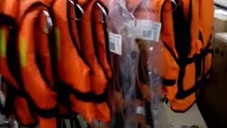 Блиц обзор: детские спасательные жилеты