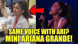 Same voice with Ariana Grande?