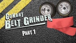 Go Kart Belt Grinder Part 1 - Base, Frame, Motor Mount