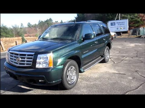 2003 Cadillac Escalade Start Up, Exhaust, Engine & In Depth Tour