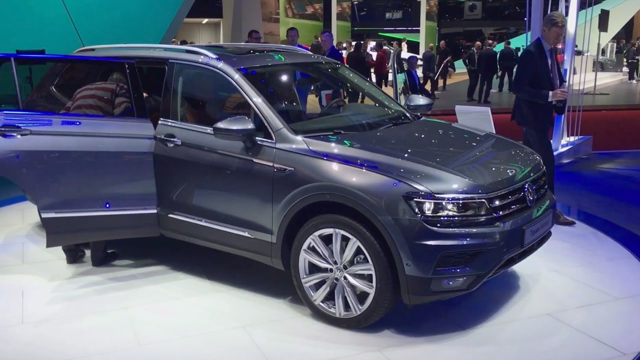 2018 volkswagen tiguan allspace 7 seat suv walkaround at. Black Bedroom Furniture Sets. Home Design Ideas