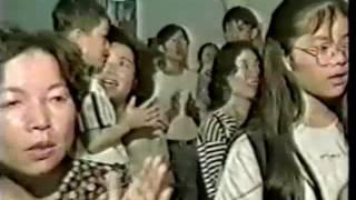1995年 H.H.第三世多杰羌佛赴台灣訪問 受到盛況空前的熱烈歡迎