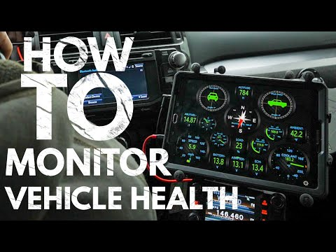 How To Monitor Your Vehicle's Health - Torque Pro App