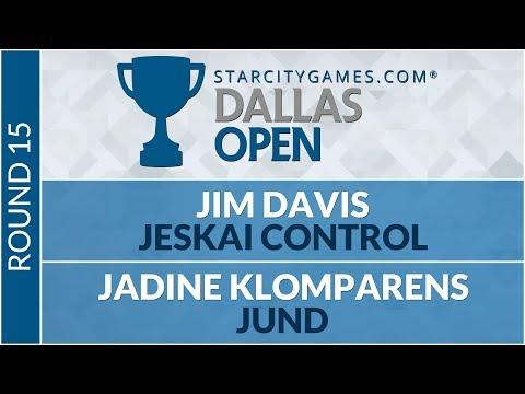 SCGDFW - Round 15 - Jim Davis vs Jadine Klomparens [Modern]