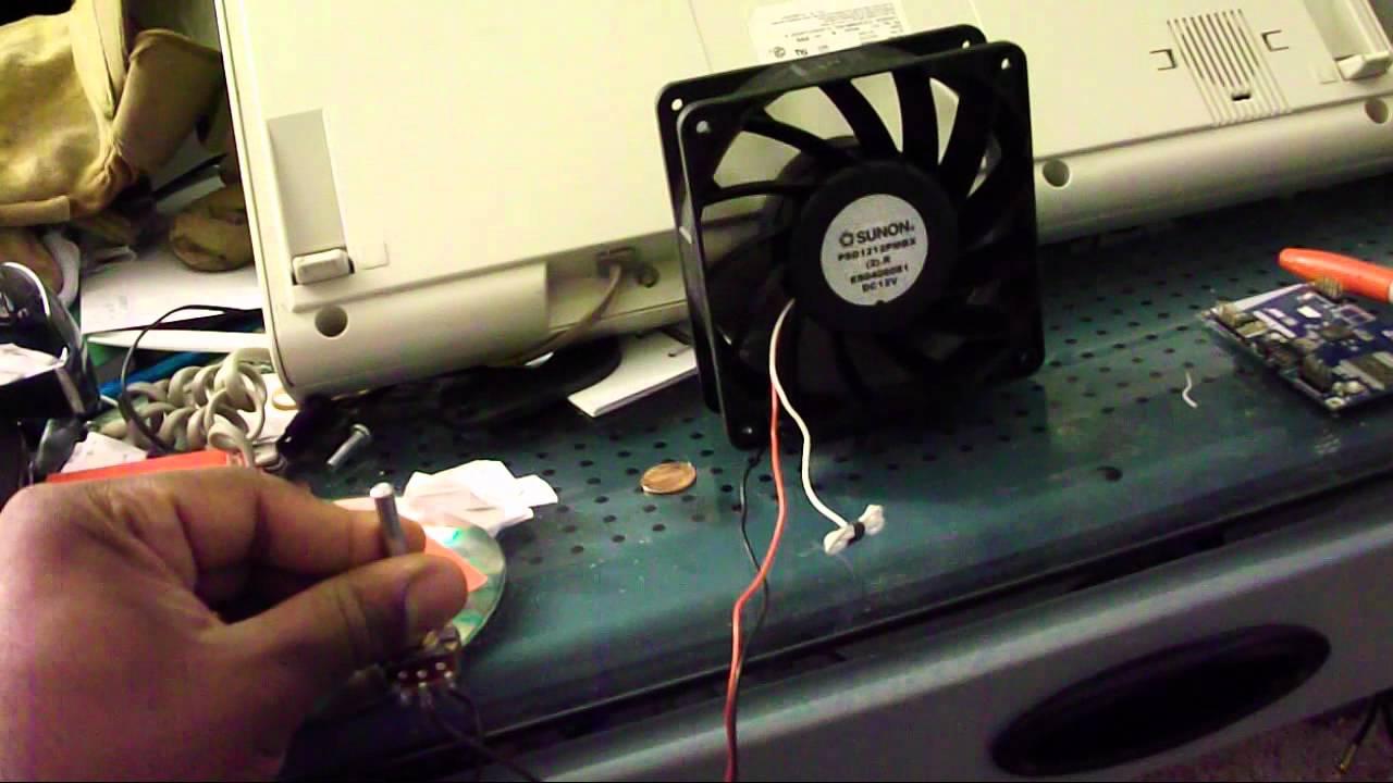 200 cfm 120mm sunon fan will blow your doors off