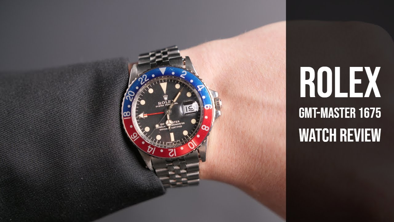Vintage Rolex Gmt Master 1675 Mark I Dial Watch Review Bob S Watches