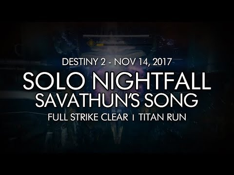 Solo Platinum Nightfall Festering Core on a Titan (No Pinnacles) [Destiny 2] from YouTube · Duration:  34 minutes 32 seconds