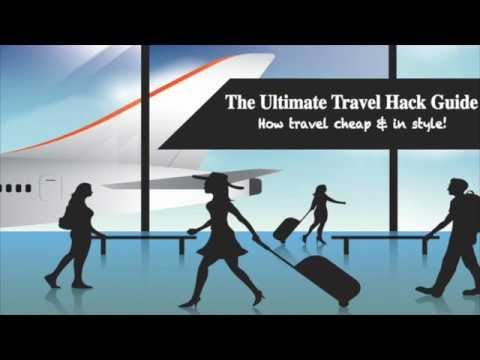 Ultimate Travel Hacking Guide - How to Fly Cheap & In Style!!
