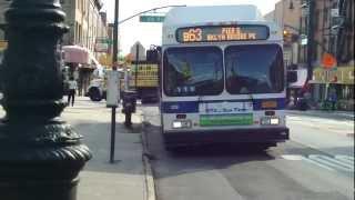 mta nyct bus 2012 new flyer c40lf b63 bus 329 at 60th st 5th ave
