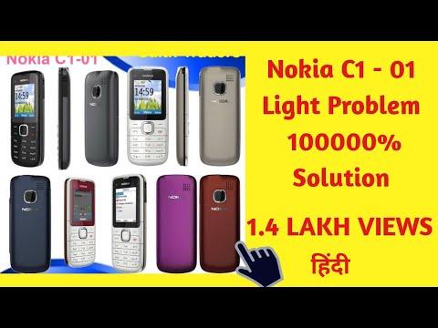 Nokia C1-01 Light Solution..Hindi......#Basic Mobile Repairing.#2