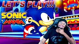 Last Stream Sonic Mania Try Not To Rage On Nintendo Switch   Avidan Smith