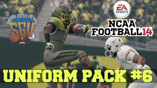 NCAA Football 14: Uniform Pack 6 Available Now!