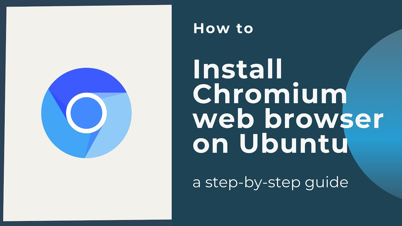 How to install Chromium web browser in Ubuntu