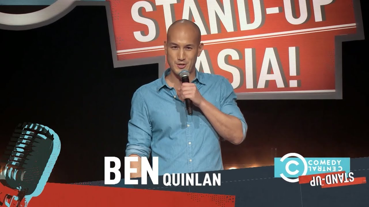 Comedy Central - Stand Up, Asia! Ben Quinlan discusses the joys of having a Chinese mother