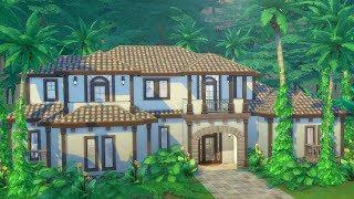 MEDITERRANEAN MANSION // The Sims 4: Speed Build