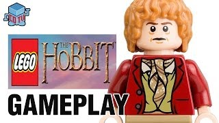LEGO The Hobbit BILBO joins Dwarves Gameplay