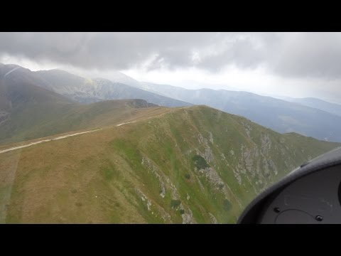 Az Alacsony-Tátra átrepülése - Flying over the Low Tatras -Diamond Katana DV20