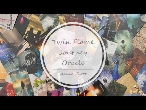開箱  雙生火焰旅程神諭卡 • Twin Flame Journey Oracle // Nanna Tarot