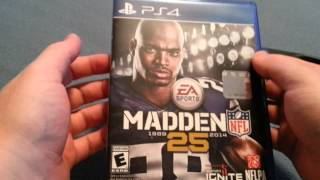 """""""Madden NFL 25"""" PS4 (Unboxing)"""