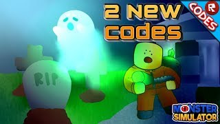 (2) New Codes Monster Simulator (Roblox)