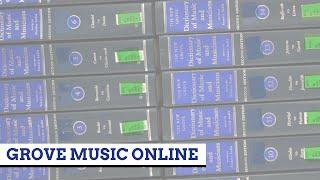 Grove Music Online