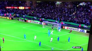 Video Gol Pertandingan Celtic vs Inter Milan