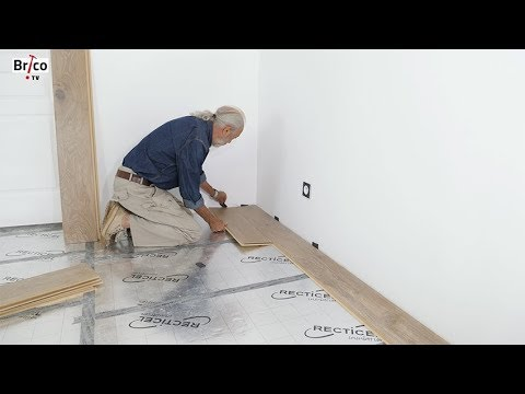 isoler un sol sous parquet flottant tuto bricolage avec robert youtube. Black Bedroom Furniture Sets. Home Design Ideas