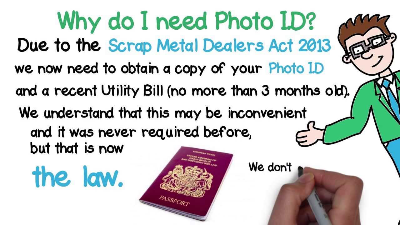 How to scrap car with no log book - Why Do I Need Photo Id To Scrap My Car